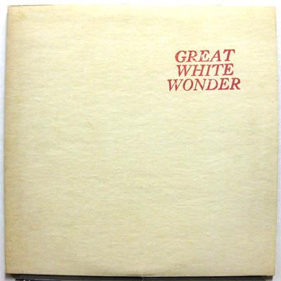bootleg records - great white wonder
