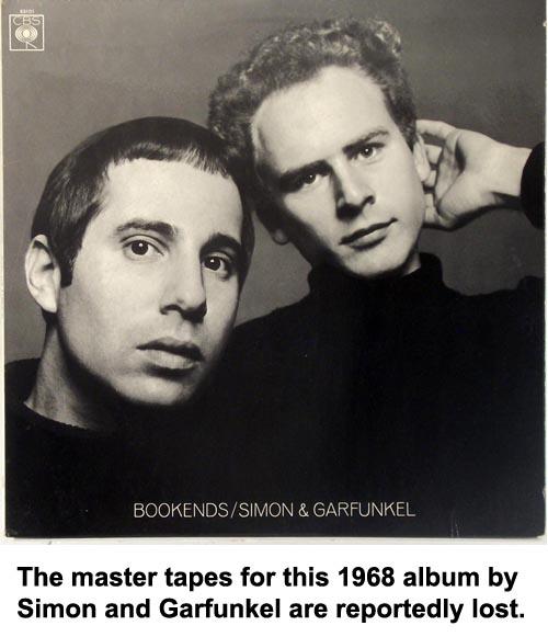 simon and garfunkel vintage vinyl records