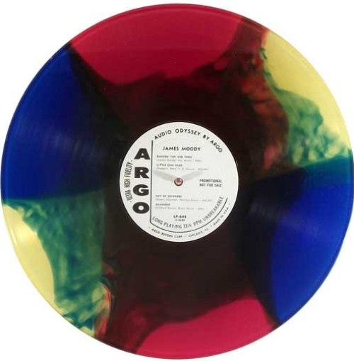 multicolor vinyl