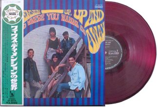 5th dimension - up up and away red vinyl japan lp