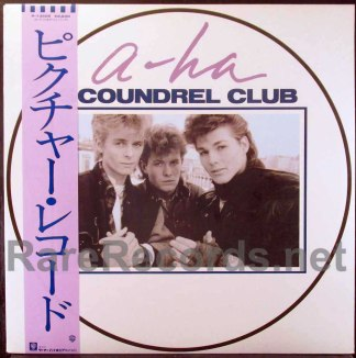 a-ha - scoundrel club japan picture disc lp