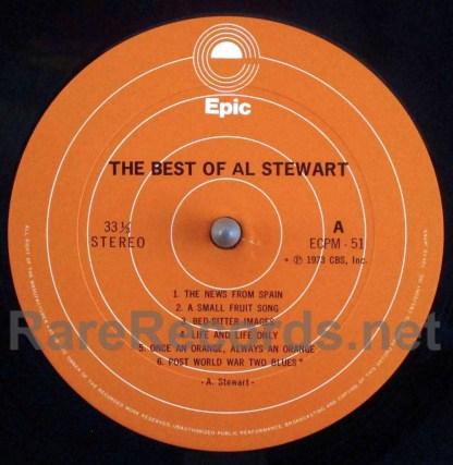 al stewart - the best of al stewart japan lp