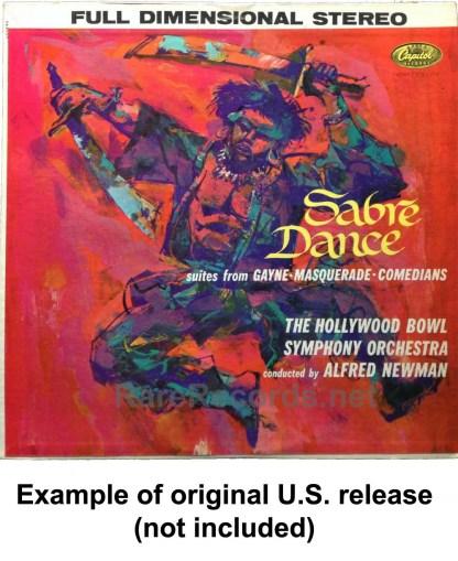 alfred newman - sabre dance LP