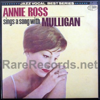 annie ross sings a song with muligan japan lp