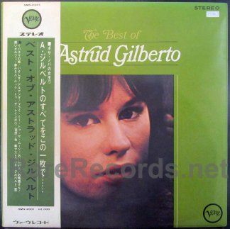 Astrud Gilberto - The Best of Astrud Gilberto Japan LP