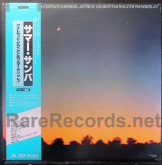 Astrud Gilberto - A Certain Smile, A Certain Sadness Japan LP