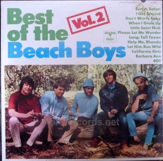 Best of the Beach Boys Vol. 2 sealed mono lp