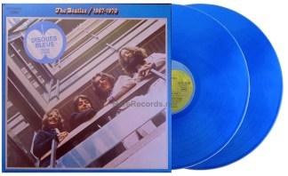 Beatles - 1967-1970 France blue vinyl LP