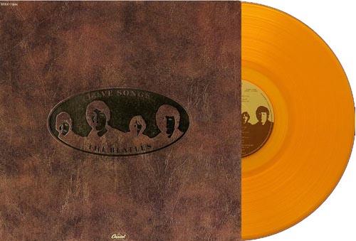 beatles love songs canada yellow vinyl