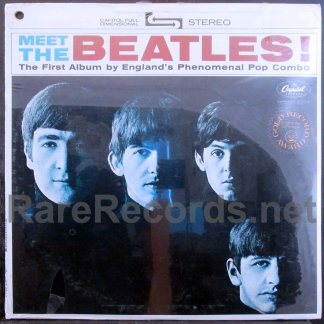 beatles - meet the beatles U.S. lp
