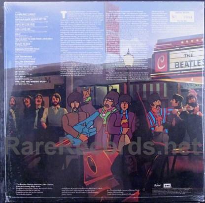 beatles - reel music yellow vinyl lp