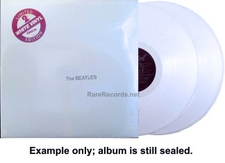 beatles - white album u.s. white vinyl lp