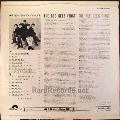 bee gees first japan LP