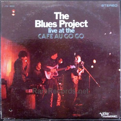 blues project - live at the cafe au go go lp