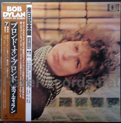 bob dylan - blonde on blonde japan lp