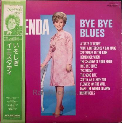 Brenda Lee - Bye Bye Blues Japan promo LP