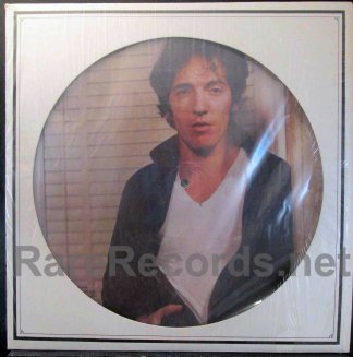 bruce springsteen - darnkess on the edge of town u.s. picture disc lp