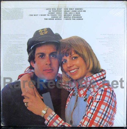 captain & tennille - love will keep us together u.s. quad lp