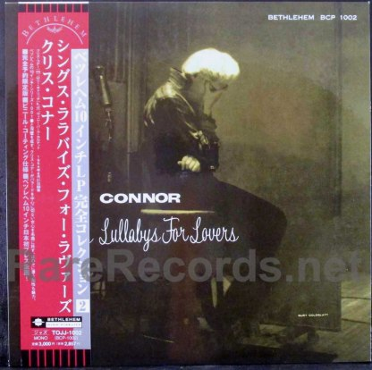 chris connor - sings lullabyes for lovers japan lp
