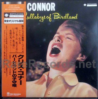 chris connor - sings lullabys of birdland japan lp