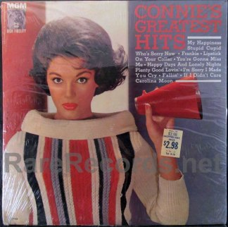 connie francis - connie's greatest hits LP