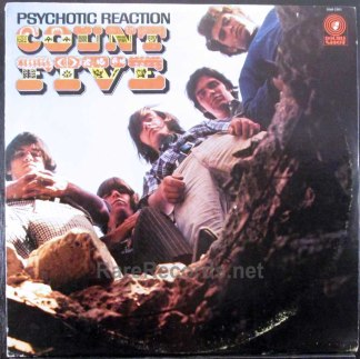 count five - psychotic reaction mono lp