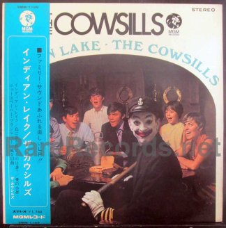 cowsills - indian lake japan lp