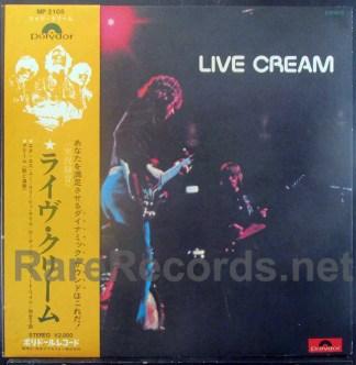 cream - live cream japan lp