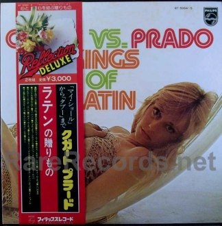 xavier cugat/perez prado - kings of latin japan lp