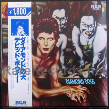 david bowie - diamond dogs japan lp