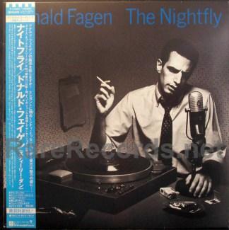 donald fagen - the nightfly japan lp