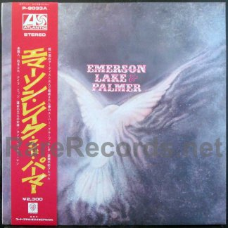 emerson lake & palmer -emerson lake & Palmer japan lp