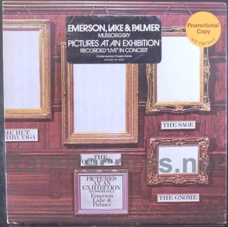 elp - pictures at an exhibition promo lp