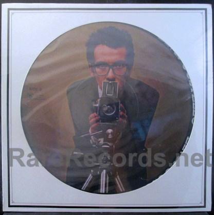 elvis costello - promotional u.s. picture disc lp