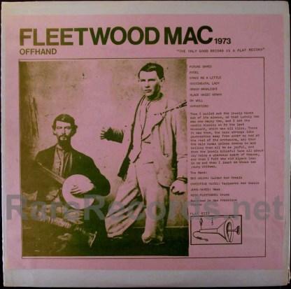 fleetwood mac - offhand live LP