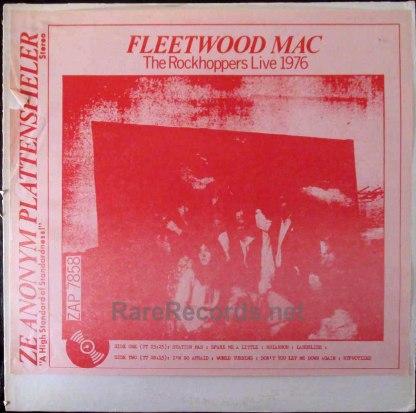 fleetwood mac- rockhoppers live 1976 LP