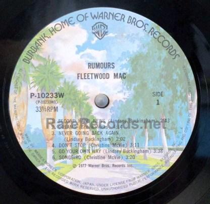 fleetwood mac - rumours japan lp