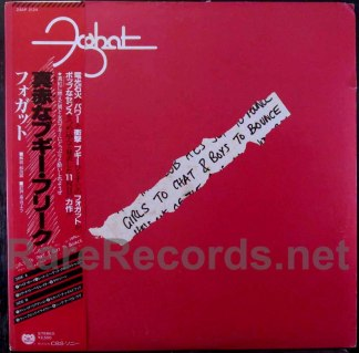 foghat - girls to chat & boys to bounce japan lp