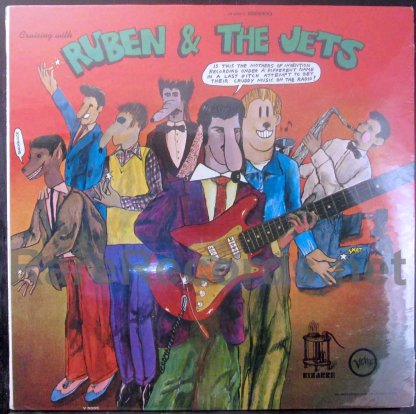 mothers of invention - cruising with ruben & the jets U.S. lp