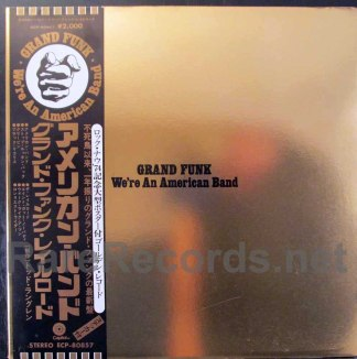 grand funk - we're an american band japan lp