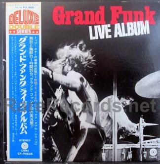 grand funk - live album japan lp