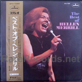 helen merrill - the best of helen merrill japan lp