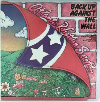Atlanta Rhythm Section - Back Up Against the Wall 1973 German promo LP