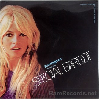 Brigitte Bardot - Special Bardot sealed promo-only 1968 soundtrack LP