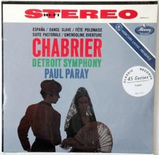 Chabrier - Detroit Symphony sealed Classic Records 4 LP 45 RPM set