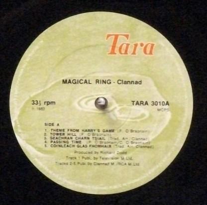Clannad - Magical Ring 1983 original Irish LP in shrink wrap