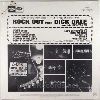 Dick Dale - Rock Out sealed 1965 mono promo LP