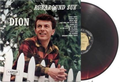 Dion - Runaround Sue ultra-rare brown vinyl 1961 LP