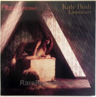 Kate Bush - Lionheart rare German ATR audiophile LP