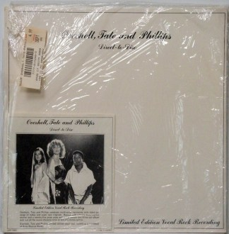 Overholt, Tate and Phillips - self-titled sealed direct-to-disc LP